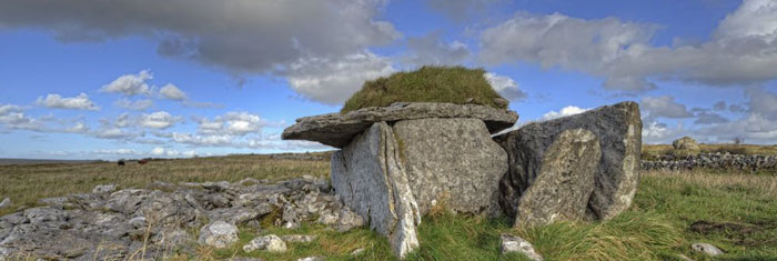 A tomb in the Burren