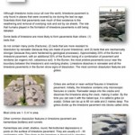 Geology-Sheet-11-Limestone-Pavement