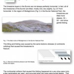 Geology Sheet 13-Tilted Limestone