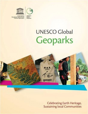 Global Geoparks brochure cover