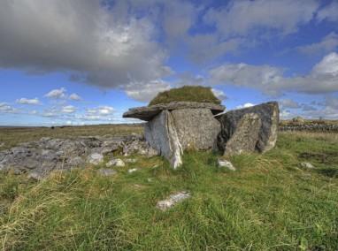 Wedge Tomb in the Burren