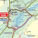 Carron Turlough Loop Map