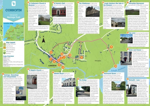 Corrofin Heritage Trail Map