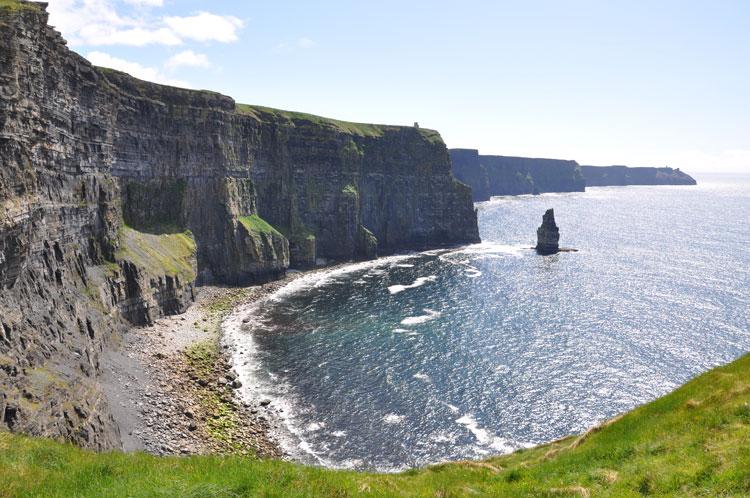 cliffs of moher burren and cliffs of moher geopark ireland
