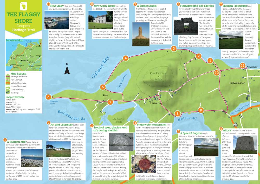 Map Of Cliffs Moher on
