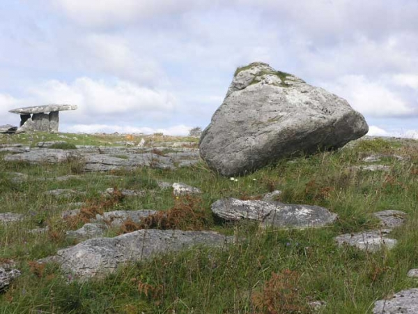 Glacial Erratic at Poulnabrone