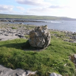 Fig.2 Glacial erratic at Doolin