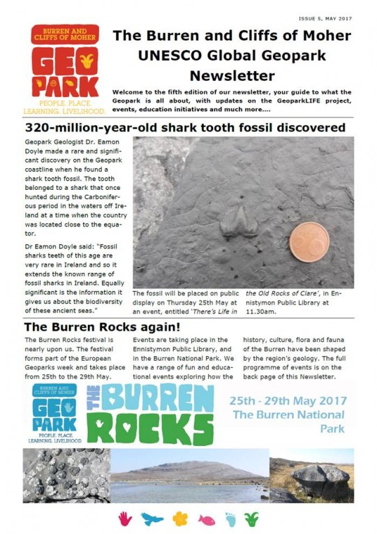 Newsletter Issue 5 cover