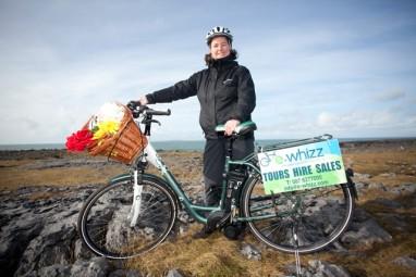 Janet-and-bike-on-rocks