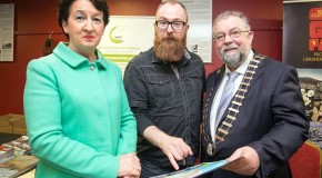Rose Hynes - Shannon Airport,Mark Graham - Travel Writer, Cathaoirleach John Crowe