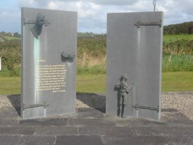 Famine memorial Ennistymon