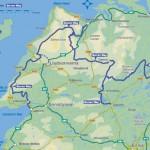 Burren Way Map