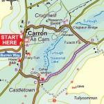 Carron Turlough Loop Map