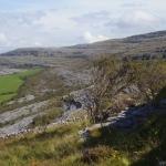 Fig.-4 Limestone terraces near Ailwee