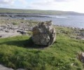 Glacial erratic at Doolin