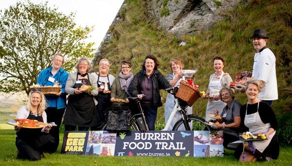 Burren Food Trail Members