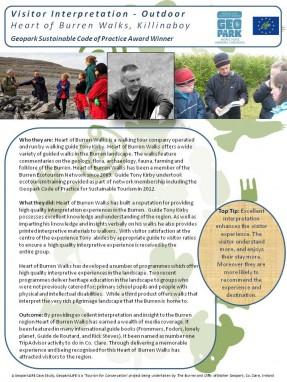 Case Studies_Heart of Burren Walks
