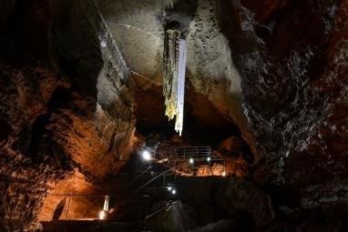Doolin Cave Stalactite