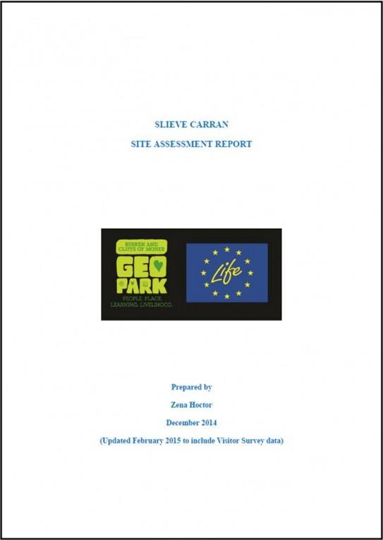 Slieve Carran Site Assessment Report