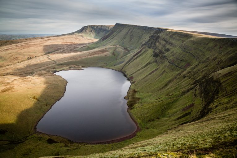 Llyn y Fan Fach, Brecon Beacons, Wales, UK